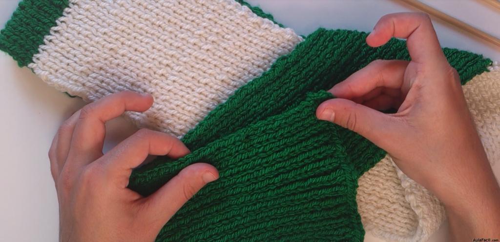▷ Tejer una bujanda - cerrar y rematar bufanda - Tejer con agujas